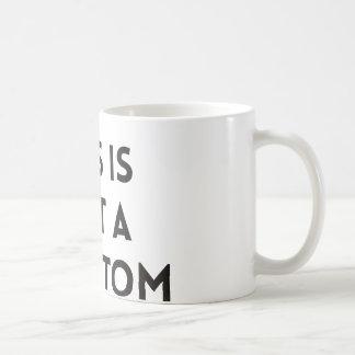Esto no es un síntoma taza de café