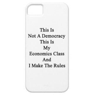 Esto no es una democracia que ésta es mi clase de iPhone 5 funda