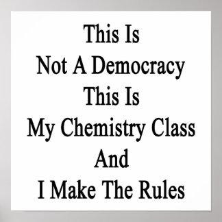 Esto no es una democracia que ésta es mi clase de impresiones