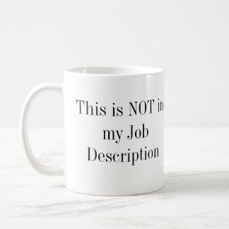 Esto no está en mi descripción de las funciones taza de café