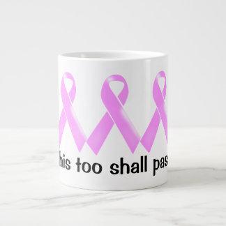 Esto pasará también la cinta rosada el | taza de café grande