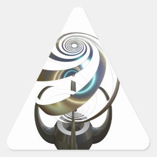 Esto representa el alcohol y el alma de mi amigo pegatinas de trianguladas