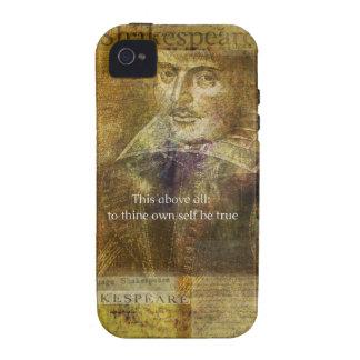 Esto sobre todo, al thine posee a uno mismo sea CI iPhone 4/4S Carcasa