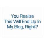 Esto terminará para arriba en mi blog postal