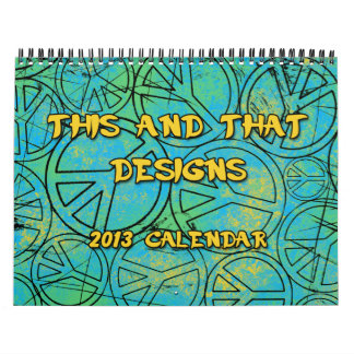 ESTO Y ESE DISEÑA el calendario 2013