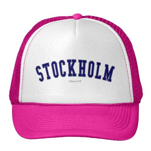 Estocolmo Gorro De Camionero