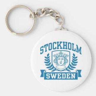 Estocolmo Llavero Redondo Tipo Pin