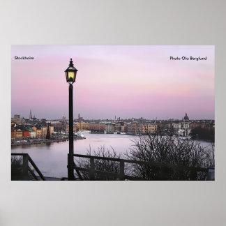 Estocolmo, Ola Berglund de la foto Póster