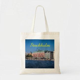 Estocolmo Suecia Bolsa Tela Barata