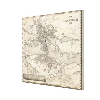 Estocolmo, Suecia Lona Estirada Galerías