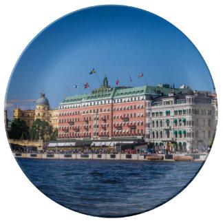 Estocolmo Suecia Platos De Cerámica