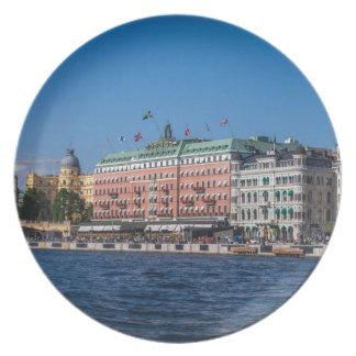 Estocolmo Suecia Plato De Comida