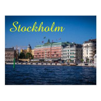 Estocolmo Suecia Postal