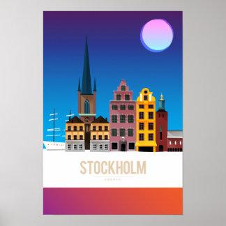 Estocolmo, Suecia Póster