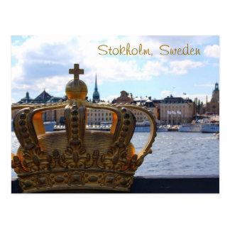Estocolmo, Suecia Tarjeta Postal