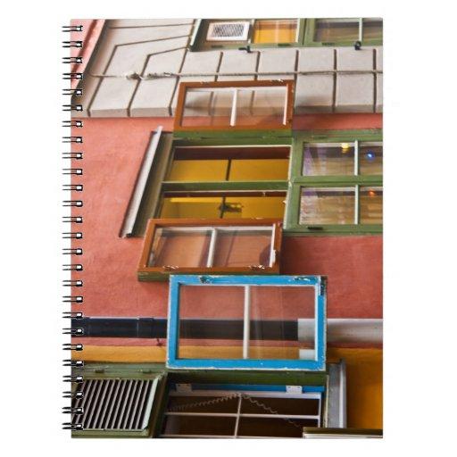 Estocolmo Windows Libros De Apuntes Con Espiral