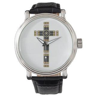 estola cruzada católica húngara del símbolo de reloj