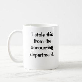Estola I éste de….¡departamento! Adaptable Tazas De Café