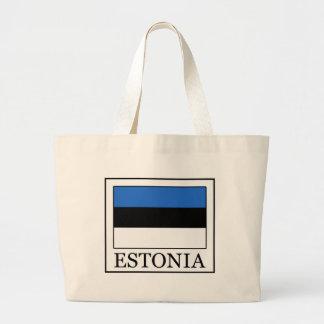 Estonia Bolsa De Tela Grande