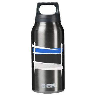 Estonia Brush Flag Insulated Water Bottle