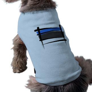 Estonia Brush Flag Shirt