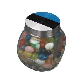 Estonia Jelly Belly Candy Jar