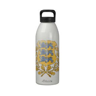 Estonia Coat Of Arms Drinking Bottle