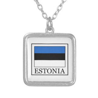 Estonia Collar Plateado