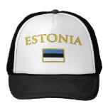 Estonia de oro gorros