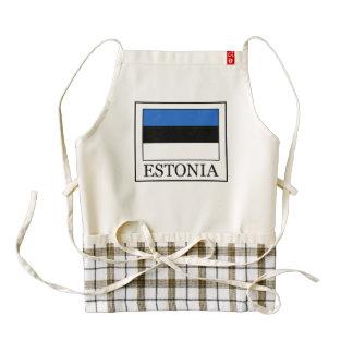 Estonia Delantal Zazzle HEART