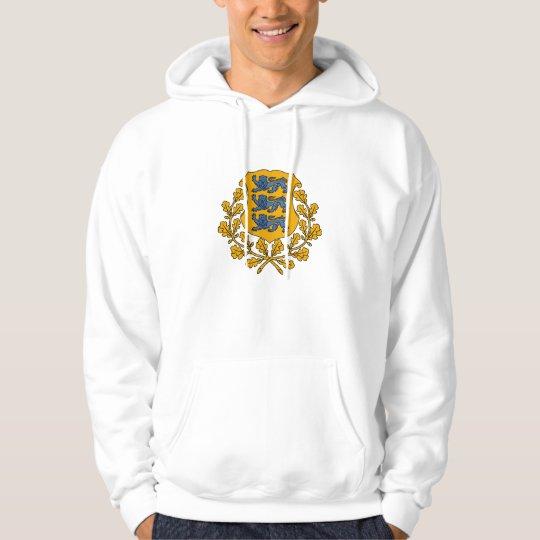 estonia emblem hoodie
