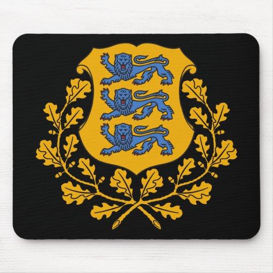 estonia emblem mouse pad