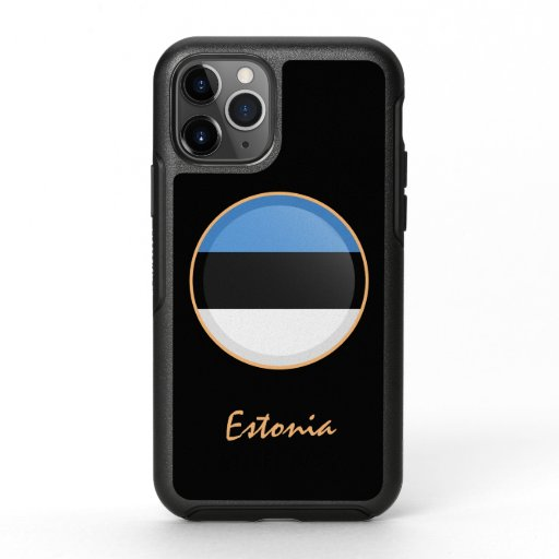 Estonia & Estonian Flag fashion /sports OtterBox Symmetry iPhone 11 Pro Case