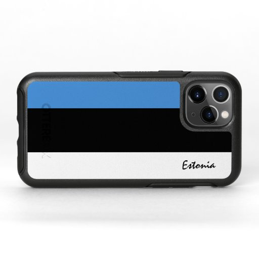 Estonia & Estonian Flag fashion, travel /sport OtterBox Symmetry iPhone 11 Pro Case