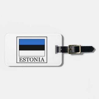 Estonia Etiquetas Para Maletas