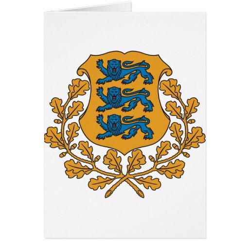Estonia Felicitacion