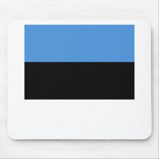 Estonia flag all over design mouse pad