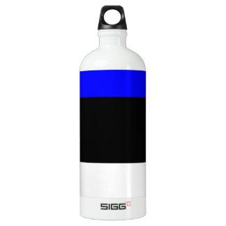 Estonia Flag Aluminum Water Bottle