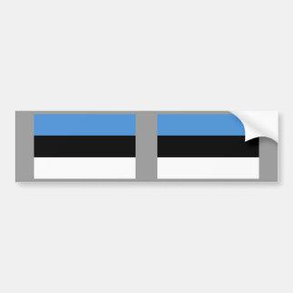 Estonia Flag Bumper Stickers