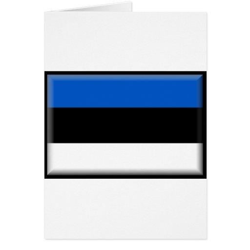 Estonia Flag Card