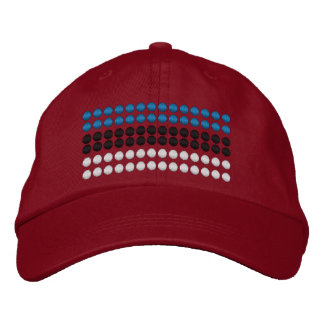 Estonia Flag Embroidered Baseball Cap
