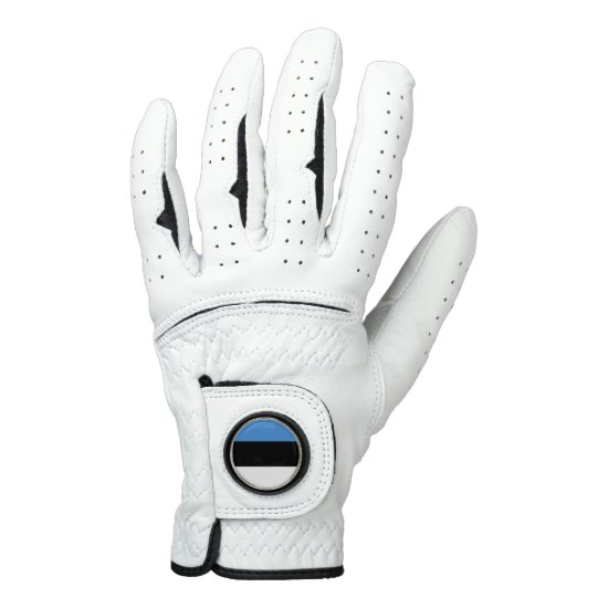 Estonia Flag Golf Glove
