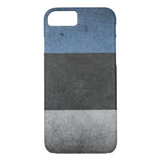Estonia Flag Grunge iPhone 8/7 Case
