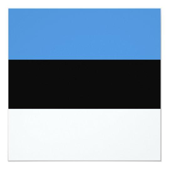 Estonia Flag Invitation