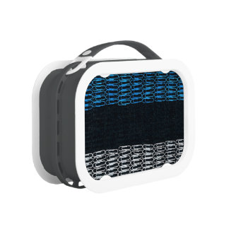 Estonia Flag of Paperclips Lunch Box