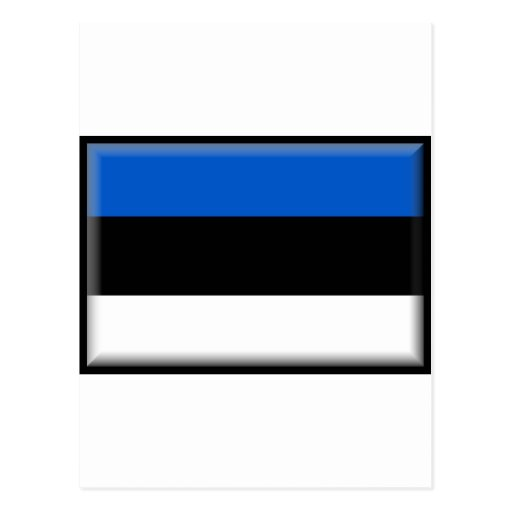 Estonia Flag Post Card