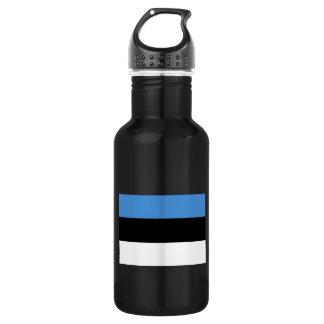 Estonia Flag Stainless Steel Water Bottle