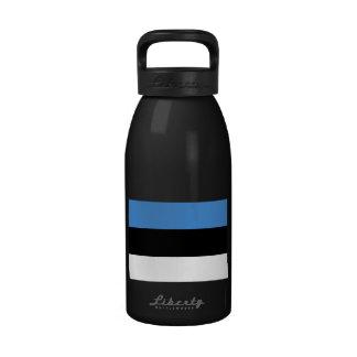Estonia Flag Water Bottles