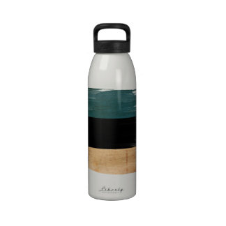 Estonia Flag Drinking Bottle