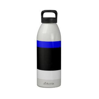 Estonia Flag Drinking Bottles